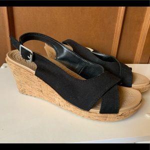 Crocs, Black sling back